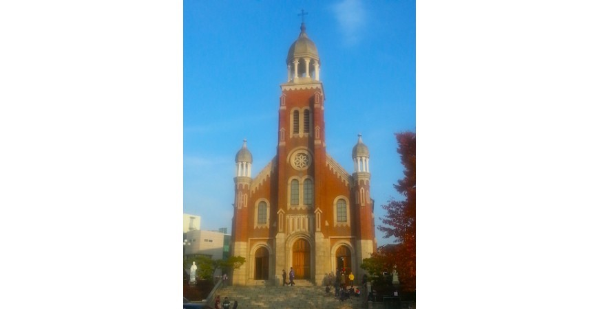 Incheon's Dapdong Cathedral