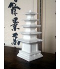White Korean Pagoda