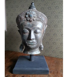 Bronze Thai Buddha head