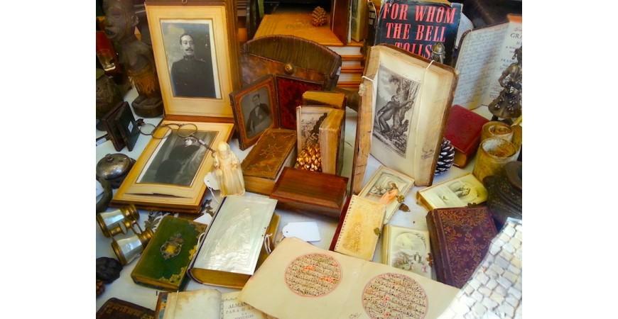 An Antiquarian Bookshop
