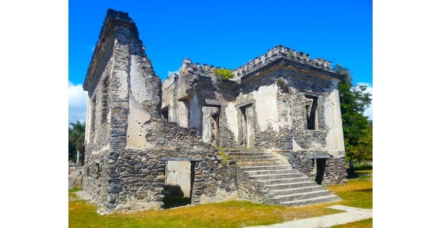 East Timor: Aipelo Ruins