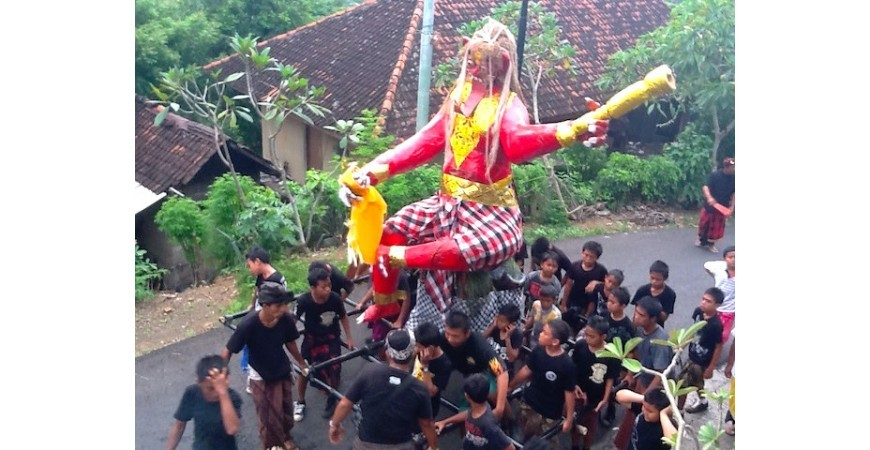 Balinese New Year's Eve